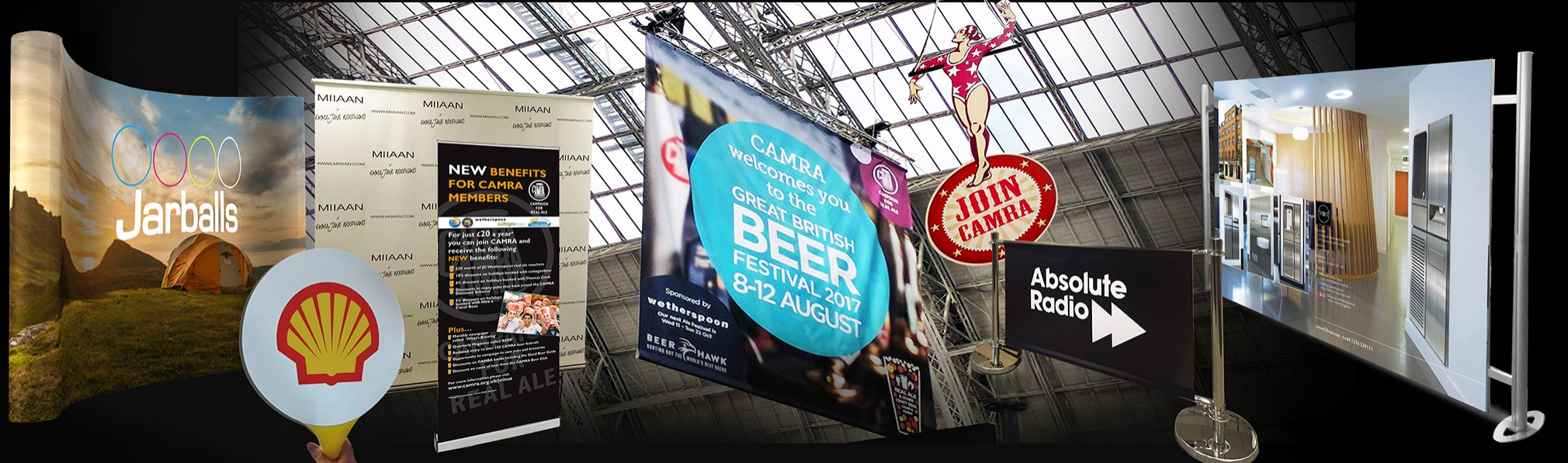 Banners And Signboards Panel New Slideshow