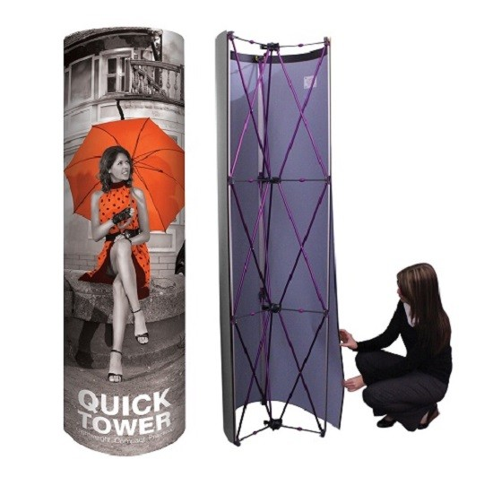 POP UP TOWER DISPLAY