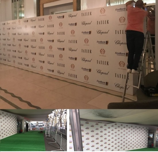 EVENT BACKDROP BOARDS