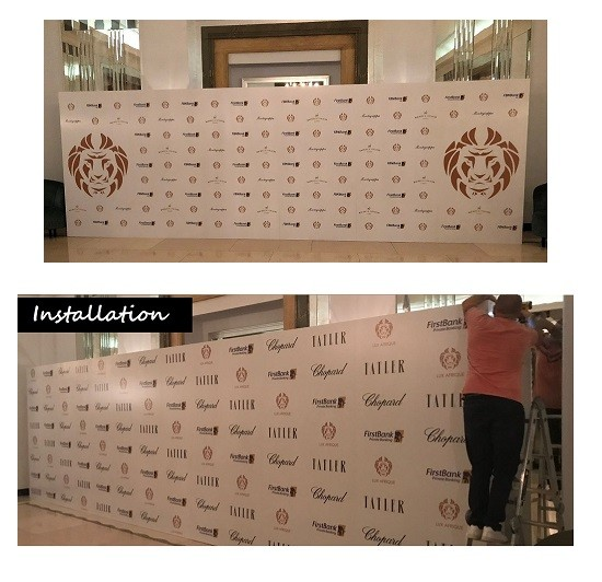 BACKDROP INSTALLATION