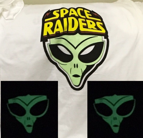 GLOW IN THE DARK T-SHIRTS