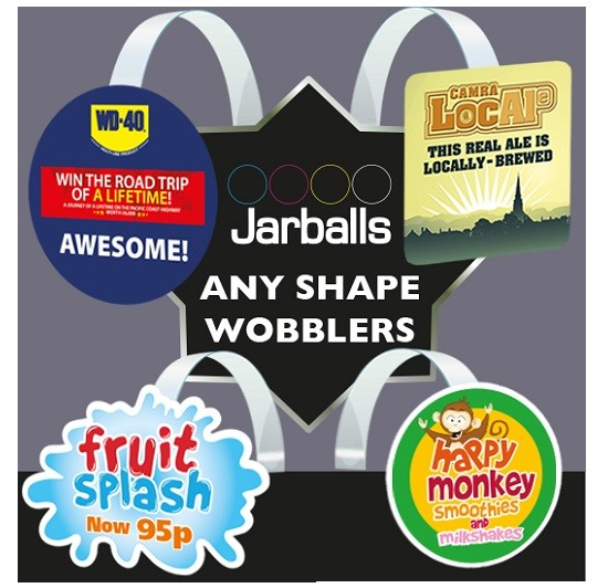 SHELF WOBBLERS