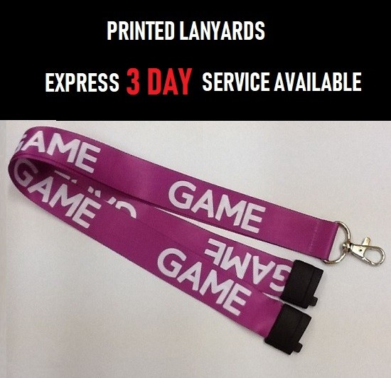 PRINTED EVENT LANYARDS