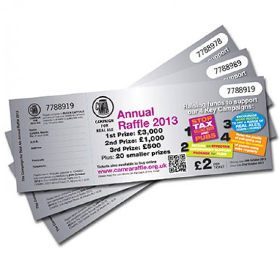 RAFFLE TICKETS & BOOKS