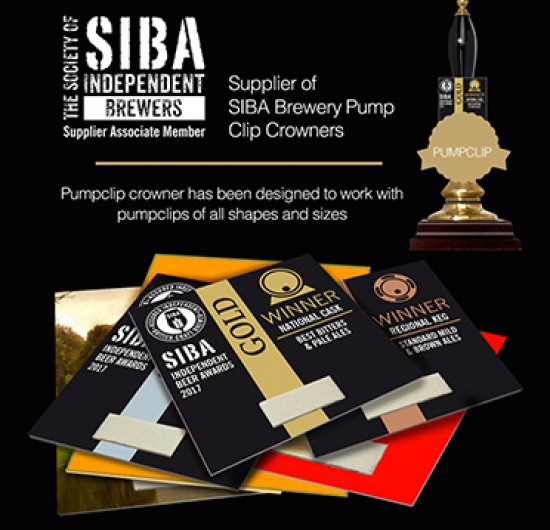 BREWERY PUMP CLIPS