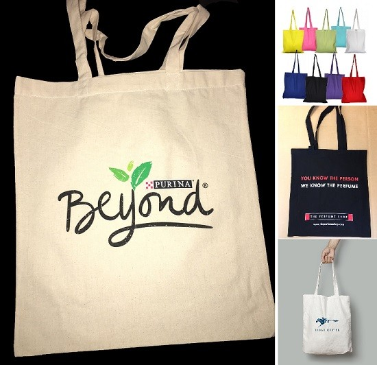 TOTE COTTON SHOPPERS